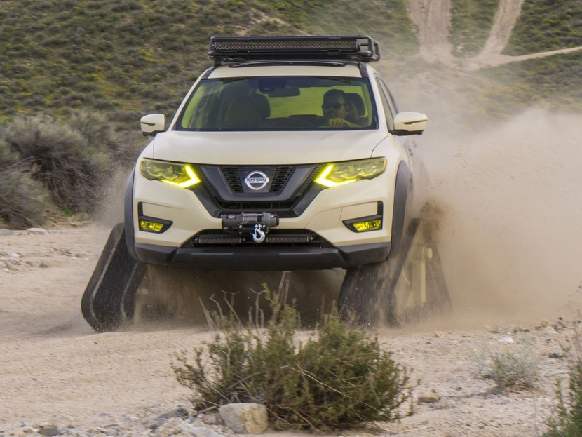 Nissan praesentierte rogue trail warrior project 003