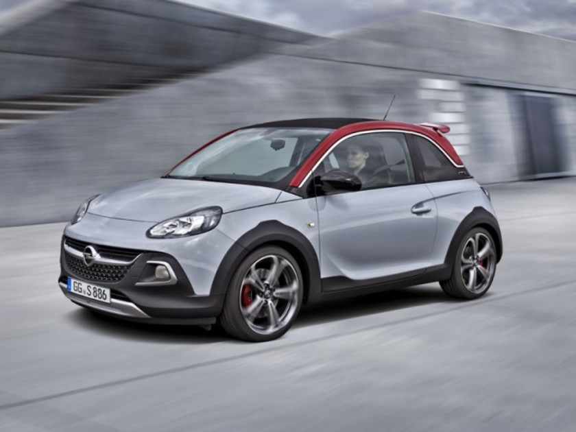 opel adam rocks s mit 150 ps turbo auto. Black Bedroom Furniture Sets. Home Design Ideas