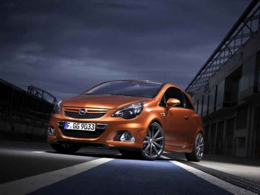 opel corsa opc n rburgring edition auto. Black Bedroom Furniture Sets. Home Design Ideas