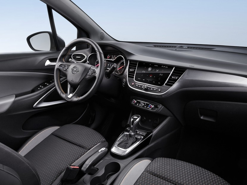 erste infos der neue opel crossland x auto. Black Bedroom Furniture Sets. Home Design Ideas