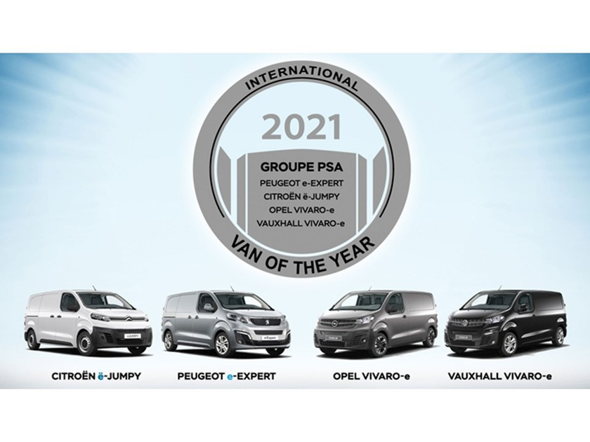 International van of the year 2021 award geht psa 001