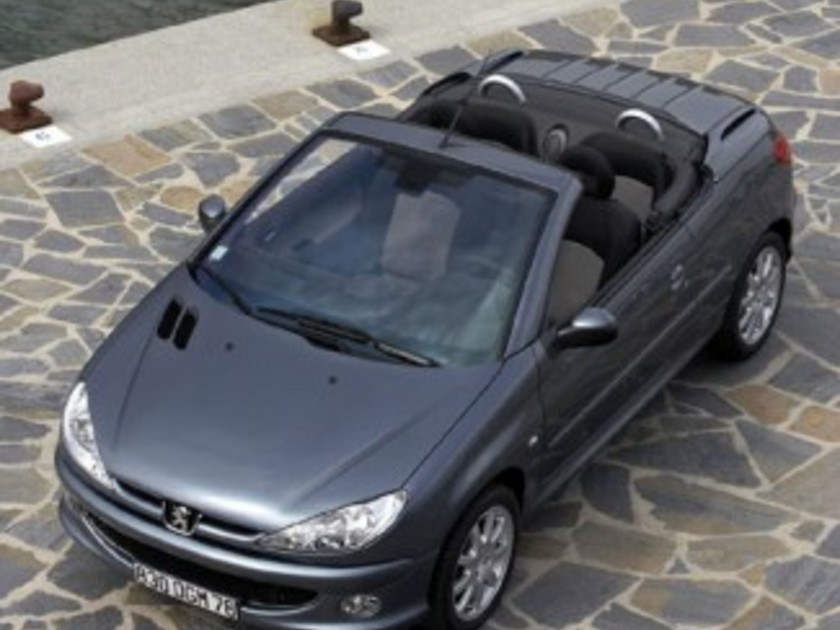 peugeot 206 cc jetzt auch mit 1 6 liter hdi 16v auto. Black Bedroom Furniture Sets. Home Design Ideas