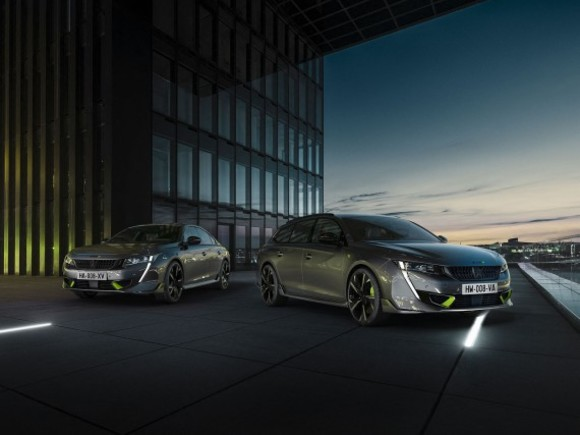 Premiere für den 508 Peugeot Sport Engineered