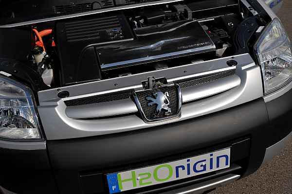H2origin zero emissions vehicle motor