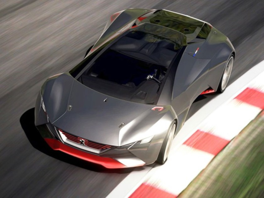 Fuer spielkonsole peugeot vision gran turismo 001
