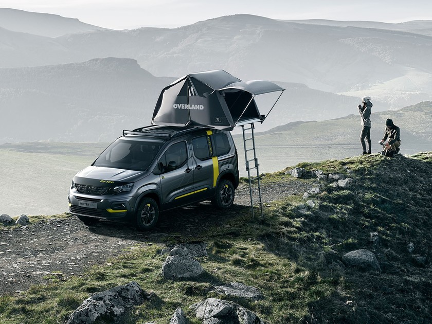 f r das abenteuer peugeot rifter 4x4 concept auto. Black Bedroom Furniture Sets. Home Design Ideas