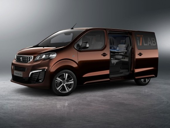 Concept Car: Peugeot Traveller i-Lab VIP 3.0