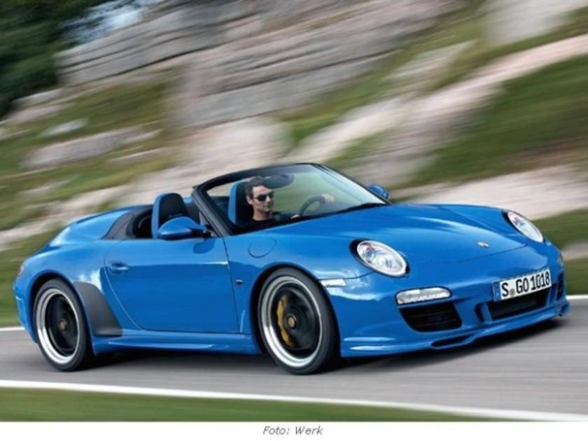 der neue porsche 911 speedster premiere in paris. Black Bedroom Furniture Sets. Home Design Ideas