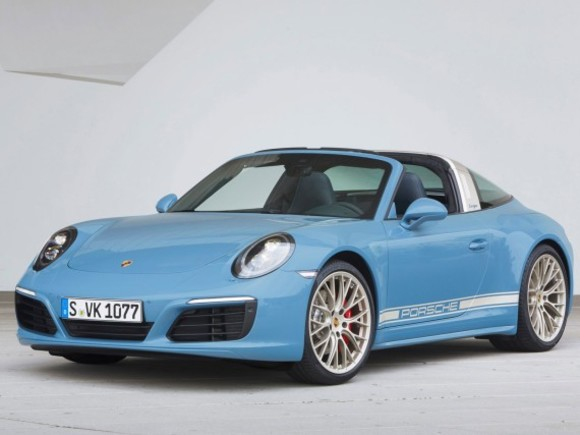 Porsche 911 Targa 4S als Exclusive Design Edition