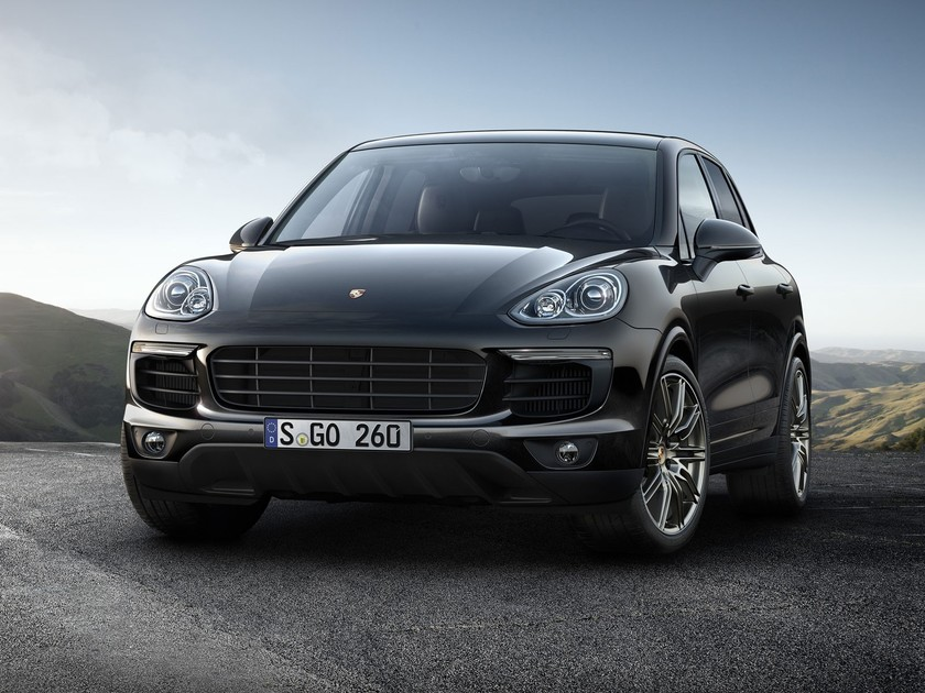 porsche cayenne s auch als platinum edition auto motor. Black Bedroom Furniture Sets. Home Design Ideas