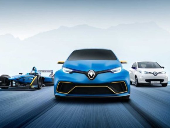 Renault bei den E-Mobility Play Days am Red Bull Ring