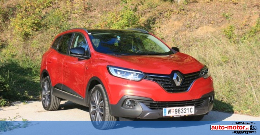 renault kadjar 130 ps benziner jetzt auch mit automatik auto. Black Bedroom Furniture Sets. Home Design Ideas