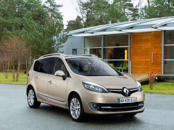 Renault Scenic Facelift 2013