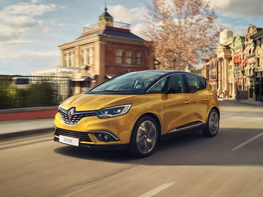 Renault Scenic mit Hybrid Assist