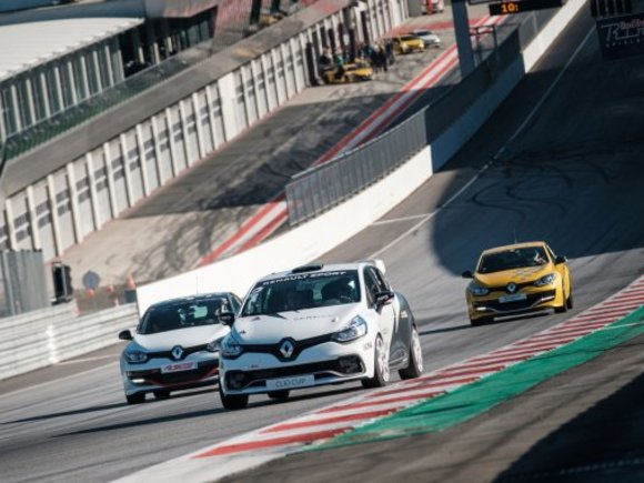 Renault Sport Track Day am Red Bull Ring