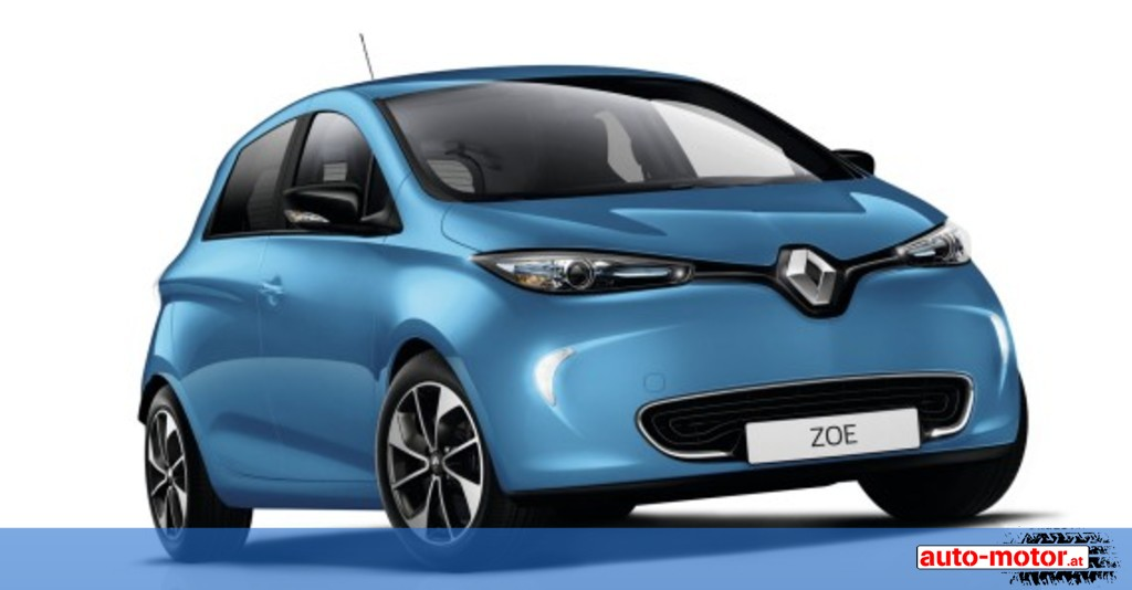 renault zoe erzielt bis zu 400 kilometer reichweite auto. Black Bedroom Furniture Sets. Home Design Ideas