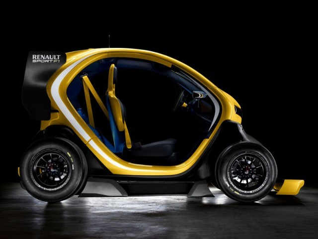 Concept car twizy renault sport f1 003