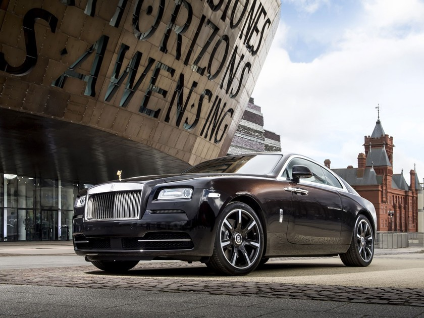 Neue rolls royce wraith inspired by british music modelle 001