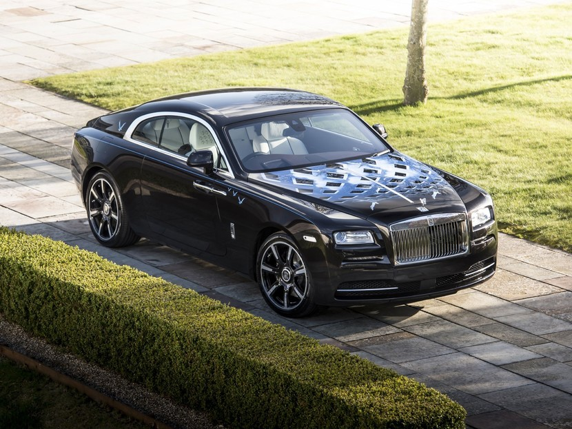 Neue rolls royce wraith inspired by british music modelle 003