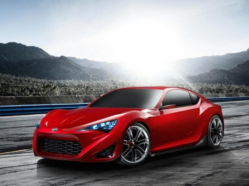 New York 2011: Scion FR-S Concept