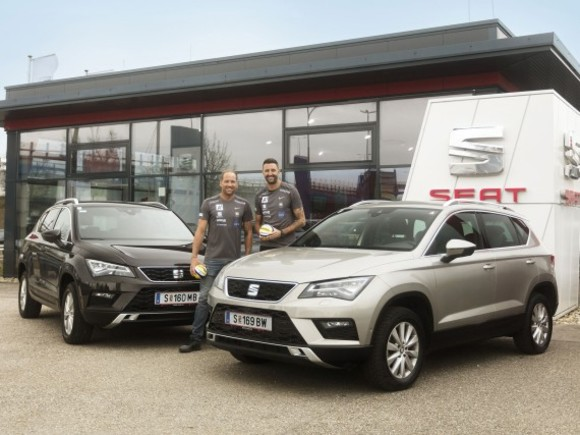 SEAT sponsort Beach-Volleyball-Team Doppler/Horst
