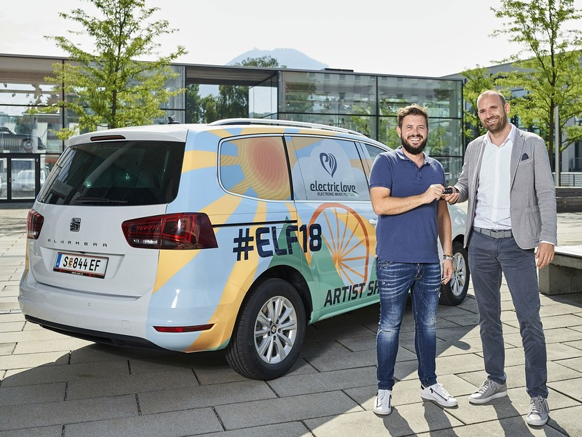 Seat ist mobility partner des electric love festival 001