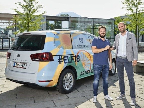 Seat ist Mobility Partner des Electric Love Festival