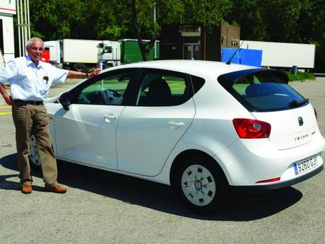 Seat ibiza ecomotive test 2009 2