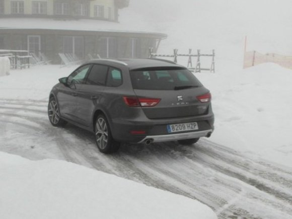 Seat Leon X-Perience Winter-Test