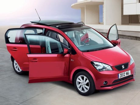 seat mii in k rze auch mit 5 t ren auto. Black Bedroom Furniture Sets. Home Design Ideas