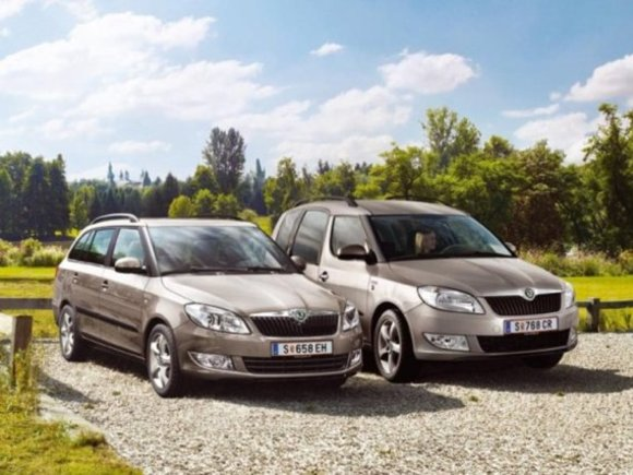 Skoda Fabia Combi Family und Roomster Family