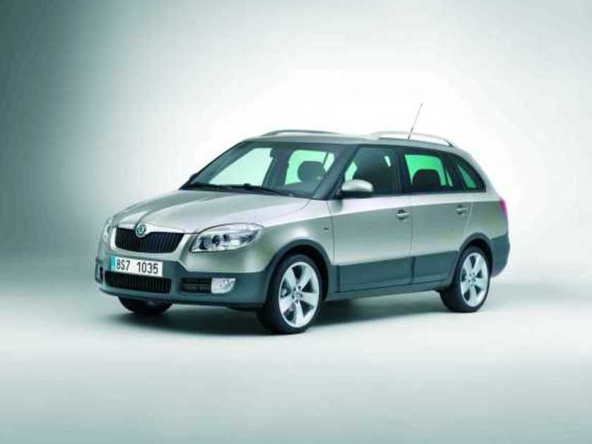 skoda pr sentiert den neuen fabia scout in genf auto. Black Bedroom Furniture Sets. Home Design Ideas