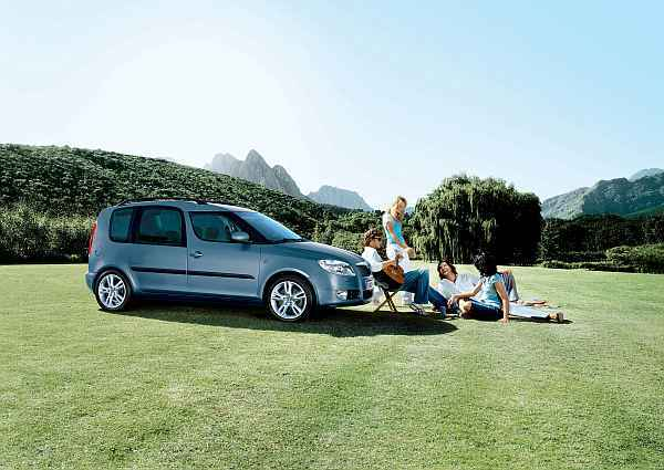 Skoda roomster free seite familie