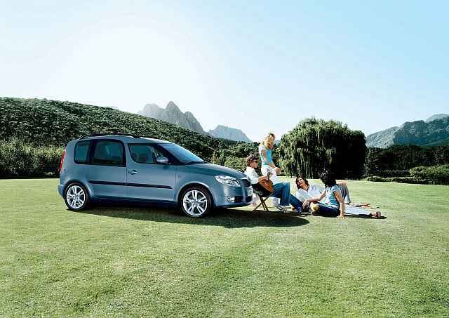 Skoda roomster free clever