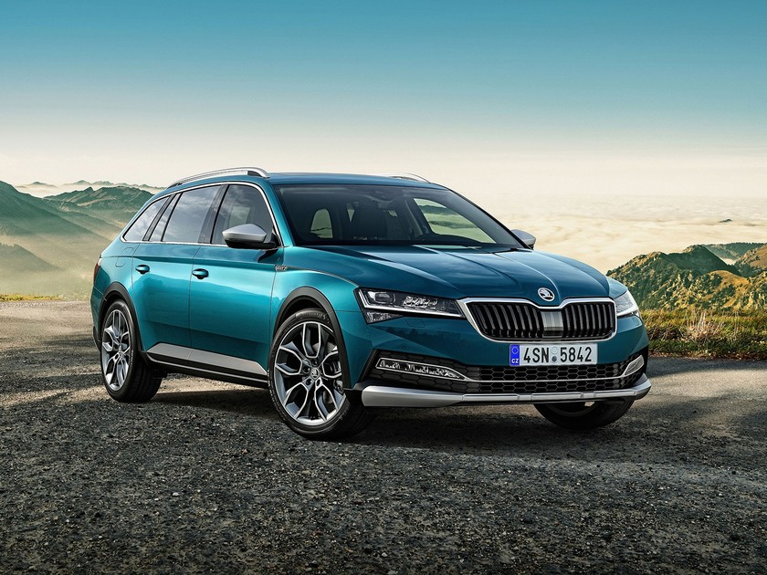 Skoda Superb Scout im Offroad-Look