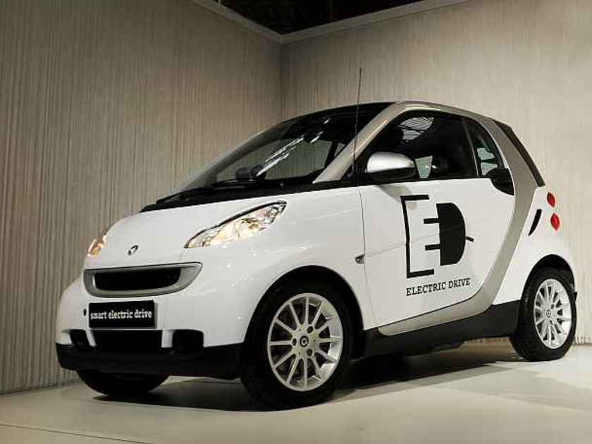 Smart fortwo electric drive italien