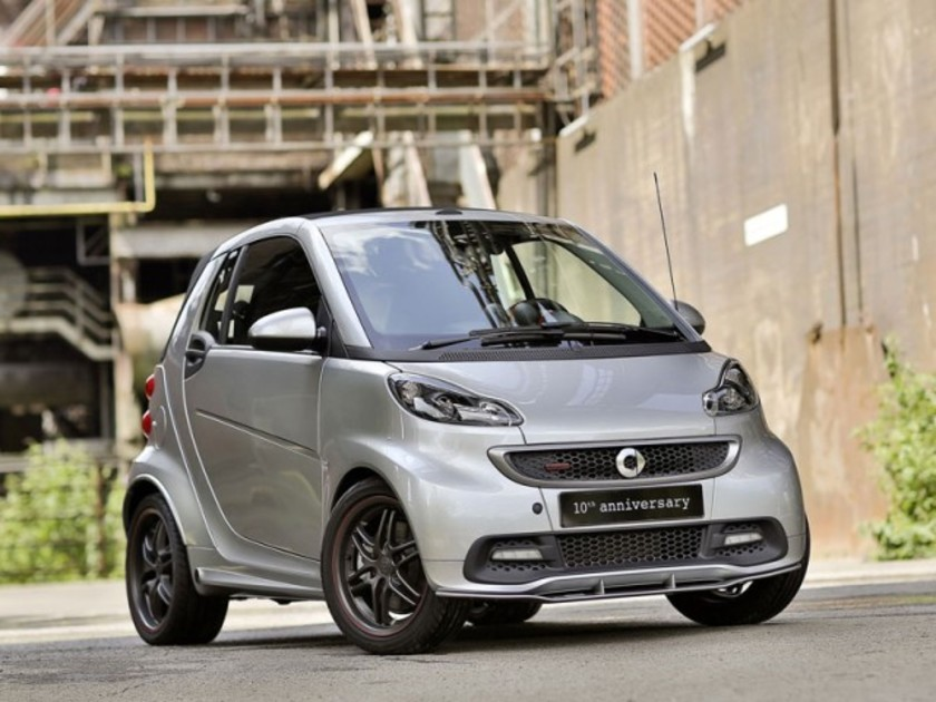 Sonderedition smart brabus 10th anniversary 001