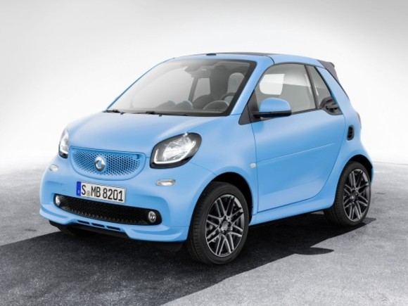 Smart zeigte Brabus edition in Genf