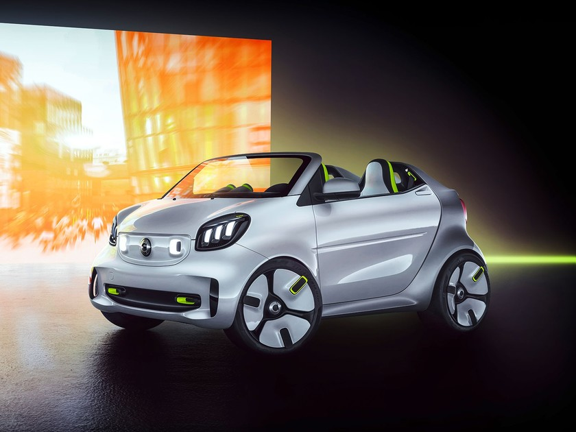 Showcar smart forease 001