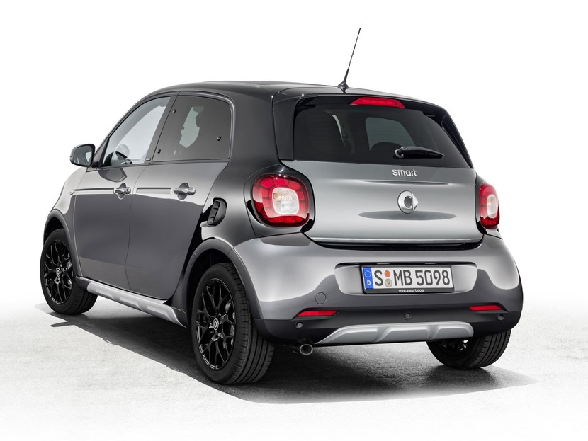 offroad look smart forfour crosstown edition auto. Black Bedroom Furniture Sets. Home Design Ideas