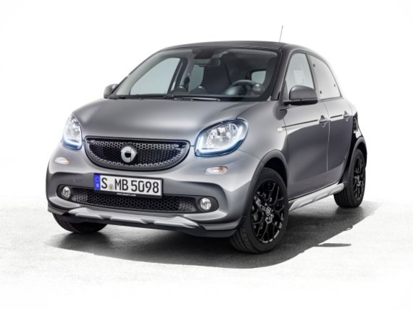 Smart bringt forfour crosstown edition