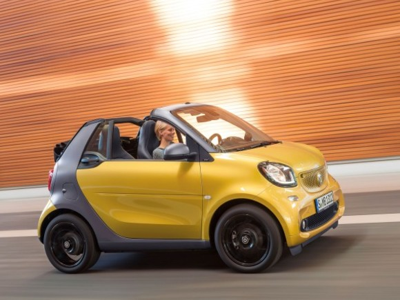 Smart fortwo cabrio ist ab sofort bestellbar