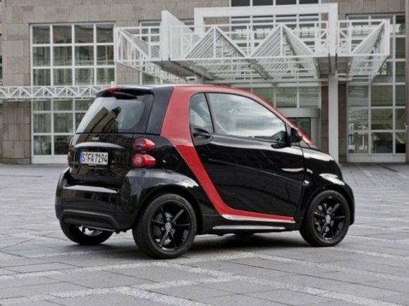 Smart fortwo edition sharped