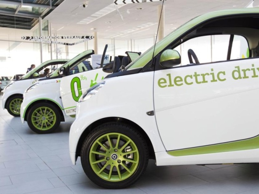 Erster Smart fortwo electric drive in Österreich