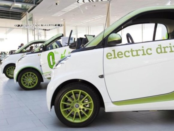 Smart fortwo electric drive in Österreich