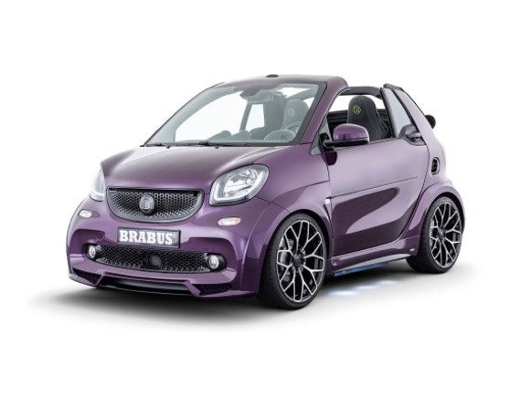 Smart EQ fortwo Sonderedition by Brabus
