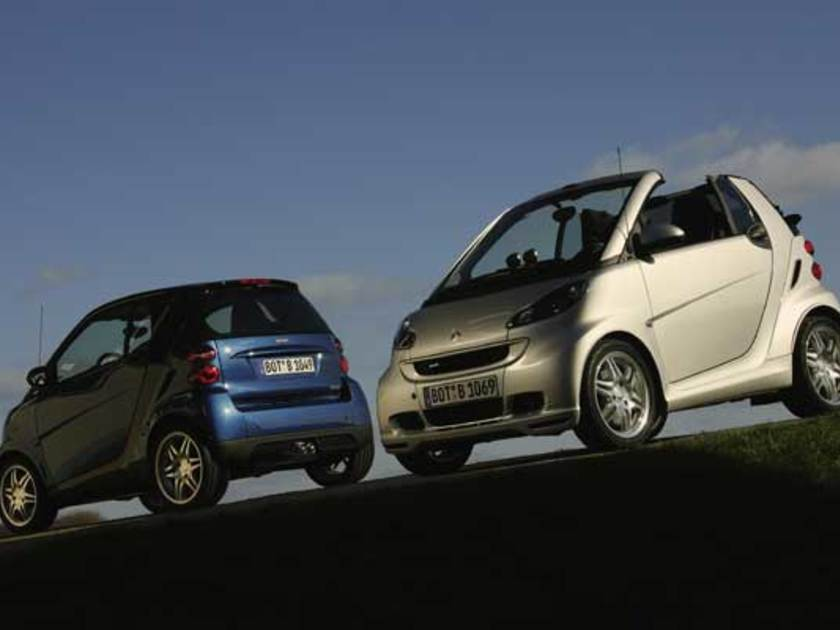 Smart fortwo brabus 2007