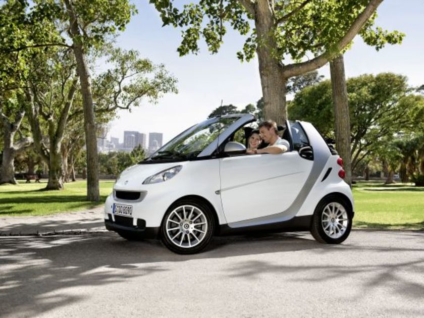 Smart fortwo cdi 2010 1