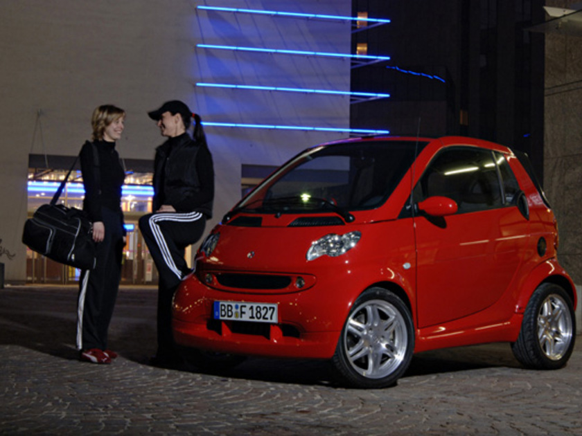 Smart fortwo edition red aussen