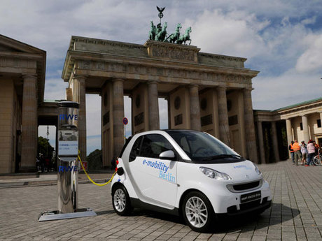 Fortwo electric drive berlin